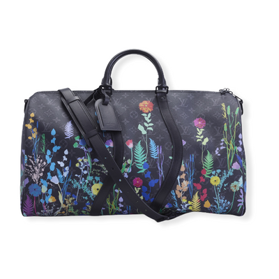 Louis Vuitton Limited Edition SS20 Floral Monogram Eclipse