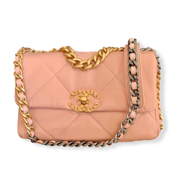 Chanel 19 Bag Small Nude
