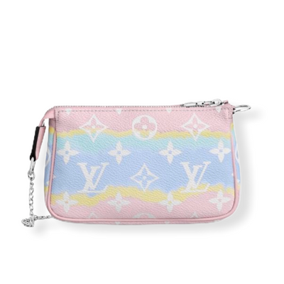 Louis Vuitton SS20 Escale Mini Pochette Accessories Pastel