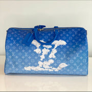 Louis Vuitton cloud Keepall Bandouliere 50