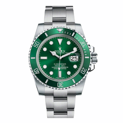 Rolex Green Submariner 'Hulk' 116610LV