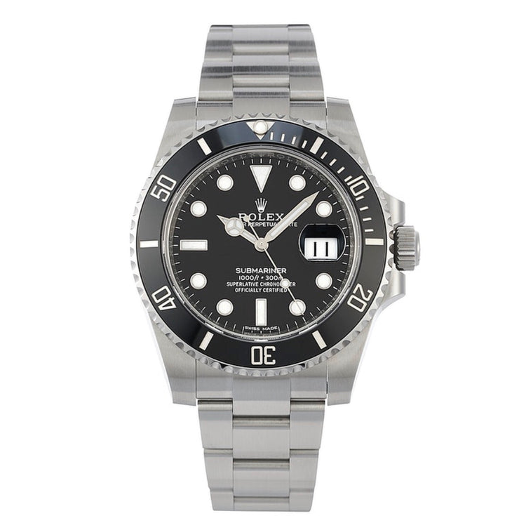 Rolex Black Submariner Date 116610LN