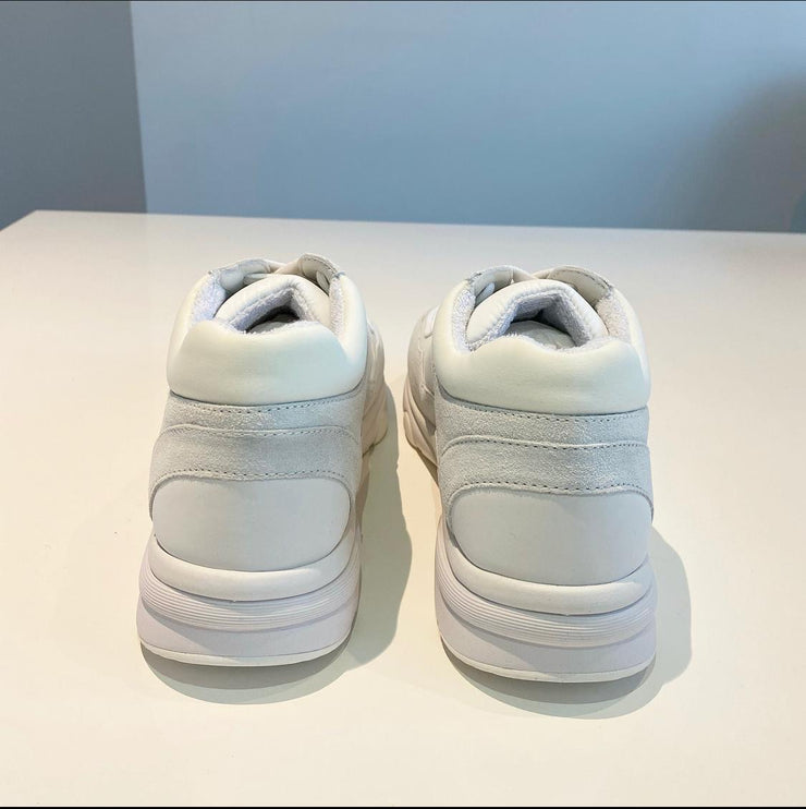 Classic White Chanel Runners