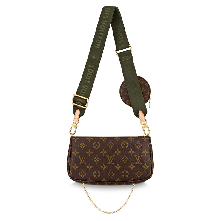 Louis Vuitton Multi Pochette Khaki Strap