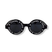 Chanel Paris CC Round Vintage Sunglasses