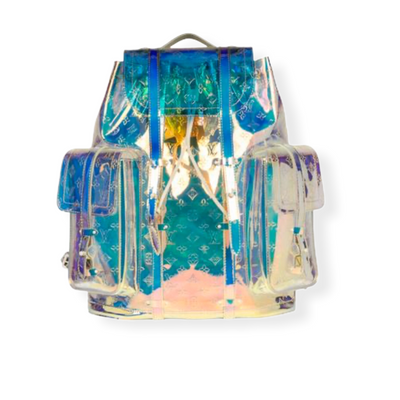 Louis Vuitton Christopher Backpack Iridescent Prism