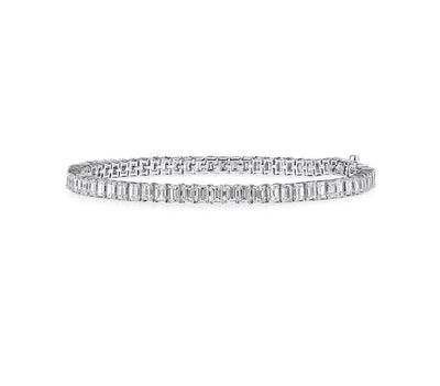 6.76ct Diamond Tennis Bracelet
