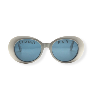 Chanel Oval Frame Vintage Sunglasses