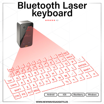 Bluetooth Laser Keyboard