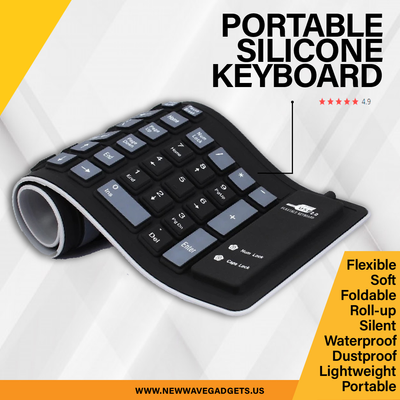 Portable Silicone Keyboard
