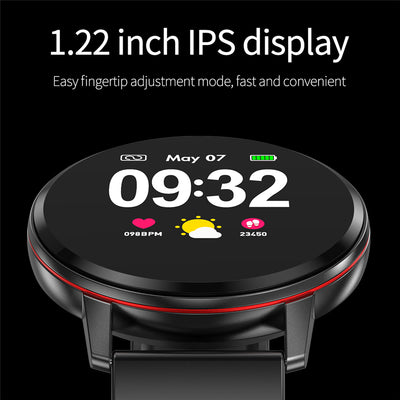 Smartphone bracelet with full touchscreen and 1.22 inch IPS display