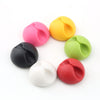 6pcs Multipurpose Cable Clip with self-adhesive in multi-color