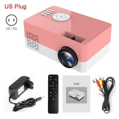 Portable Beamer Mini Projector 1080P - Newwavegadgets.us