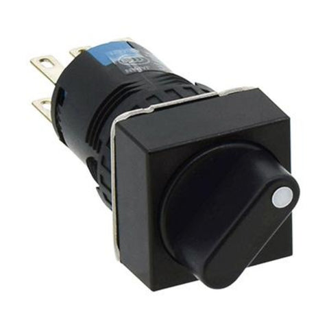 IDEC Selector Switches 16MM A6 Series  90°-2-Position Model# AS6Q-2Y2