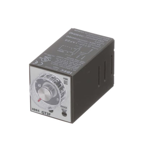 IDEC Timer Off Delay 0.05-180 SEC 100-240V Model# GT3F-1AF20