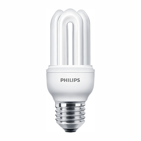 Philips CFL Lamp 11W E27 3000K Model# L-PHI-LMP-00083