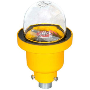 Point Lighting LED Obstruction Light Model# POL-21004-220-R-34B-S