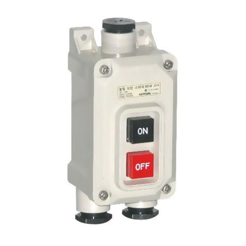 Hanyoung Nux Power Push Button Weatherproof ON-OFF Model# BEW 230