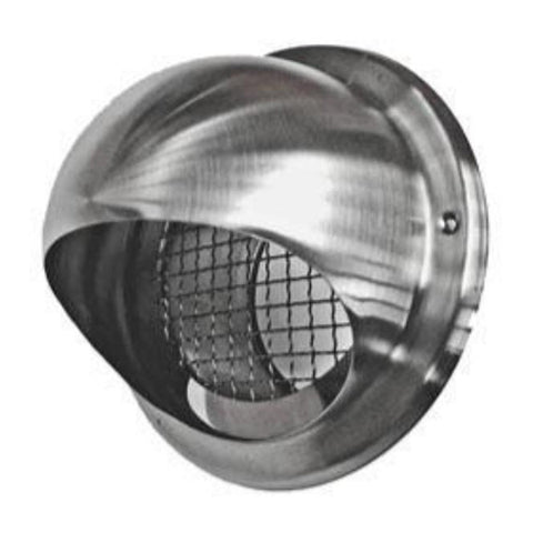 "MaxAir Vent Cap Stainless Steel 4"" Model# MAS304-100"