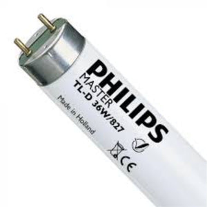Philips T8 Lamp TL-D 36W/827 Incandescnet White Model# L-PHI-LMP-00191