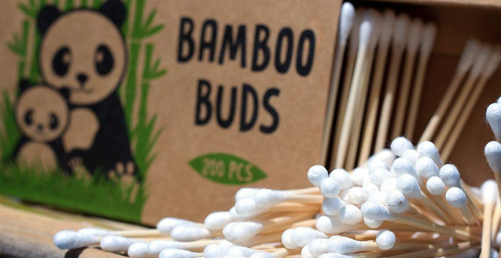 Bamboo Cotton Buds | Ear Buds | Biodegradable Bamboo Buds | Bamboo Buds | Organic Ear Buds | Bamboo Cotton Buds | bamboobuds