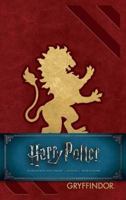 Harry Potter Gryffindor Hardcover Ruled Journal: Redesign