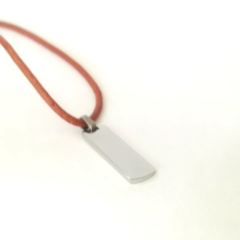 Cord Leather necklace by rebelroad.co.za online in South Africa