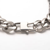 Faceted Curb Chain Bracelet - Bracelets - Rebel Road