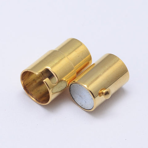 6mm Barrel and Pin Clasp Golden