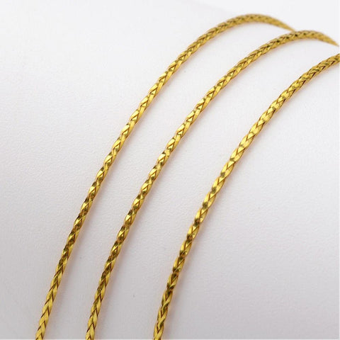 Gold Metallic Thread Cord -1mm