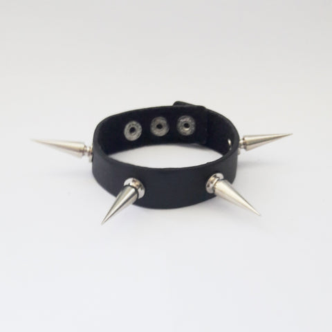 Narrow Goth Bracelet - Bracelets - Rebel Road