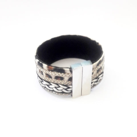 African Wide Band Bracelet - Bracelets - Rebel Road