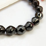 Black Synthetic Hematite Bracelet - Bracelets - Rebel Road