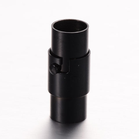 6mm Barrel and Pin Clasp Black