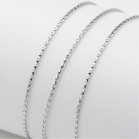 Silver Metallic Thread Cord -1mm