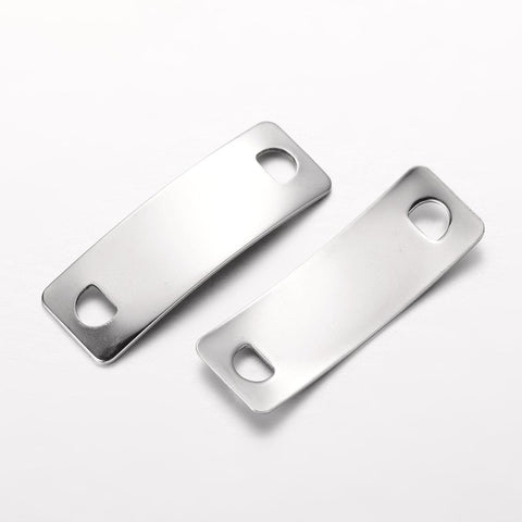 Large Rectangular ID Engravers Plate