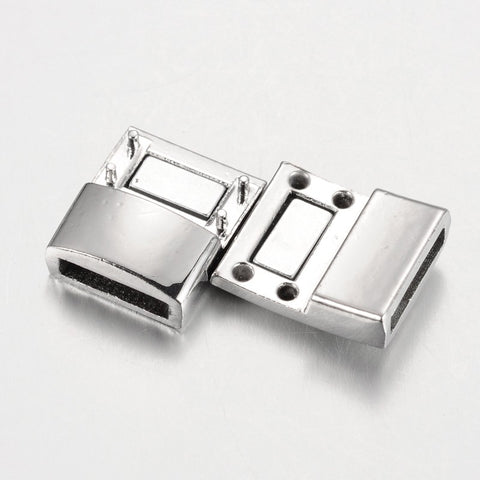 Metal Alloy Rectangular Magnetic Clasp