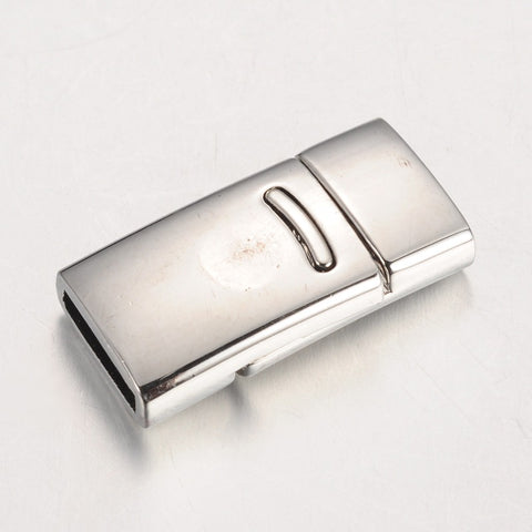 Rectangular Alloy Magnetic Clasp