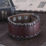 Vogue Leather Cord Bracelet - Bracelets - Rebel Road