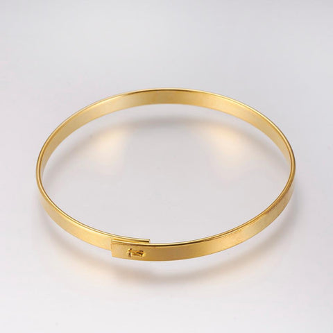 Brass  Bangle - Bracelets - Rebel Road