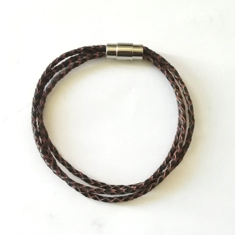 Brown Bolo Multi Strand Bracelet - Bracelets - Rebelroad.co.za