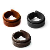 Double Loop Leather Bracelet - Bracelets - Rebel Road