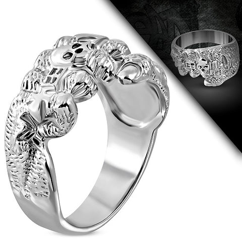 Evil Fist Biker Ring - Rings - Rebelroad.co.za