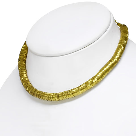 Golden Copper Necklace - Neckwear - Rebelroad.co.za