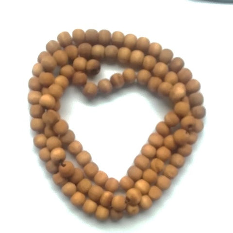 12mm Wood Bead Necklace Set