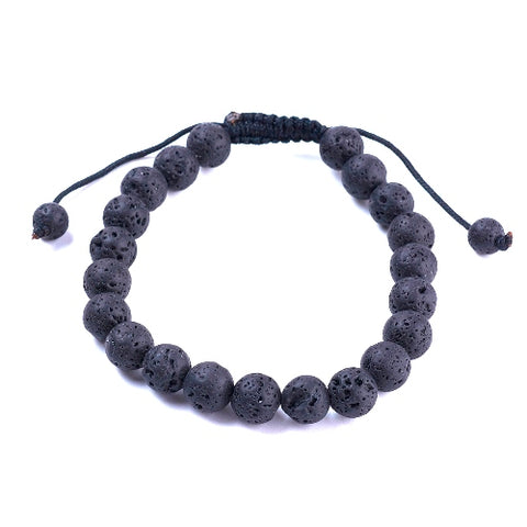 Lava Bead Friendship Bracelet
