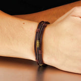 Multi-Strand Leather Bracelet - Bracelets - Rebelroad.co.za