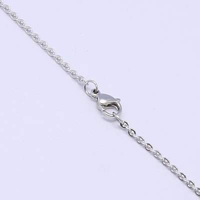 2mm Thin Cable Chain Necklace