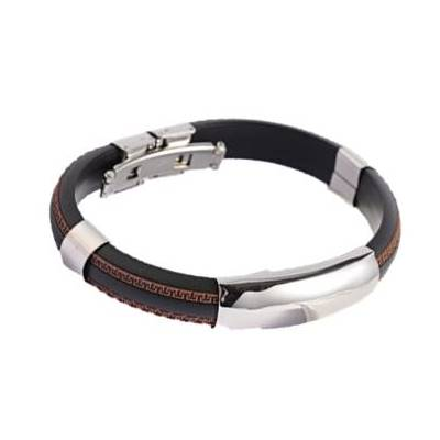 PU Leather ID Bracelet - Bracelets - Rebelroad.co.za