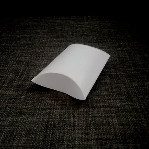 Pillow Medium White Gloss Gift Packaging